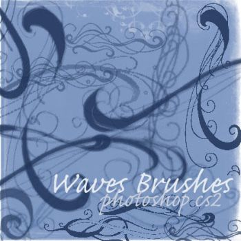 Waves Brushes by Kuhkay