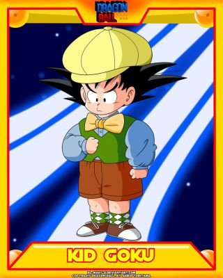 DB-Kid Goku V5 by el-maky-z
