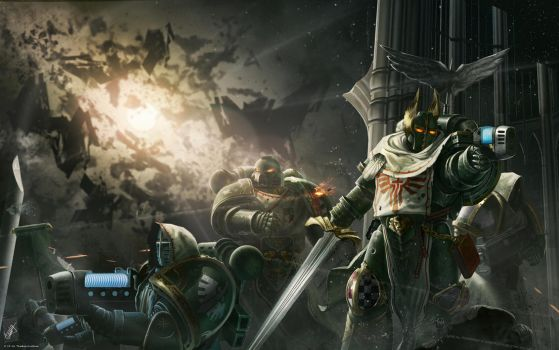 the Dark Angels by TheMaestroNoob
