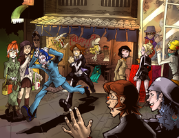 Persona 2: Noodle Shop Mayhem by karniz