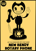 Bendy Rotary Phone (Contest Entry) by Gamerboy123456