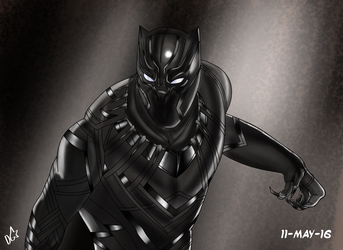Black Panther  by dgaskins