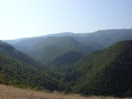 Rhodope mountains in Bulgaria by yankoa