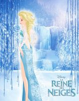 Elsa The Snow Queen by Auro0109