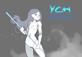 [close] YCH Auction: with weapon_2 by elfexar
