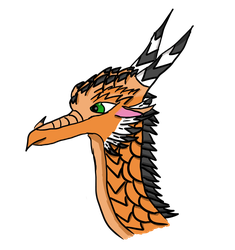 Hoopoe the AveWing by FrostWingDragons