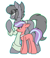 Millie and Satin by SpaazleDazzle