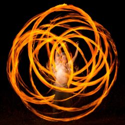 Fire Dancing by ArcanaPhotographic