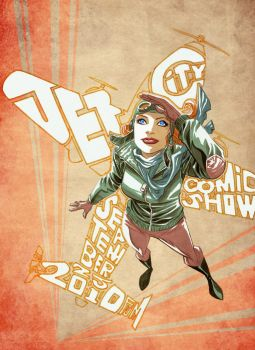 Jet City Comic Show Final by manapul