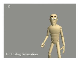 1st Dialog Animation Test by 3dAnimationgroup