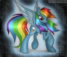 Rainbow in her glory. by Ap0st0l