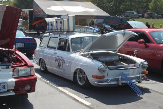 Custom VW Squareback Wagon by iannathedriveress