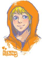 South Park Kenny by dballec