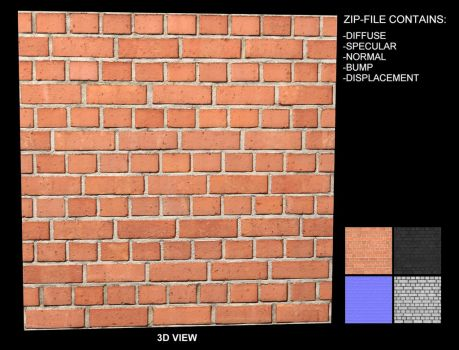 Brick Texture 11 - Seamless by AGF81
