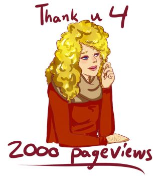 2000 pageviews! by CoppuCaykee