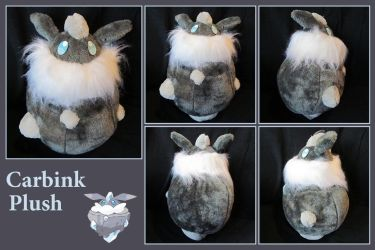 Carbink Plush (with free sewing pattern) by Neomae