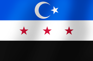 Northern Syria flag by AY-Deezy