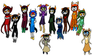 Fantroll God Tiers by sonicandgunso