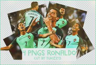 PACK PNG RONALDO by tukizz13