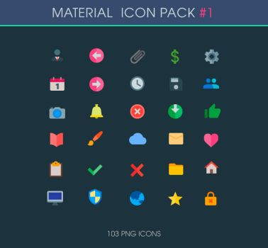 .: General - Material Icons :. by DigitalConnection