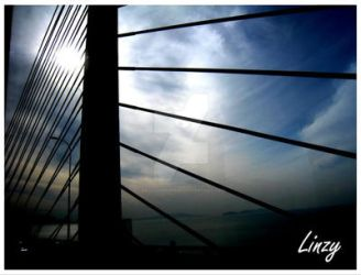 Penang Bridge by BackOneBurn3r