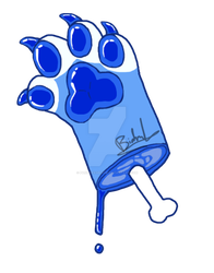 (GIFT)Mex paw cut by Mochathespoongirl