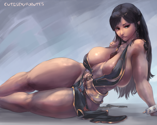 Chun-li battle costume by cutesexyrobutts