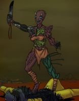 Flara the mutant by Ritualist