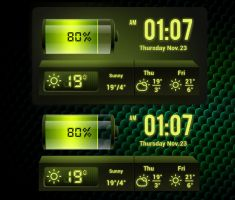 Green Force for xwidget by Jimking