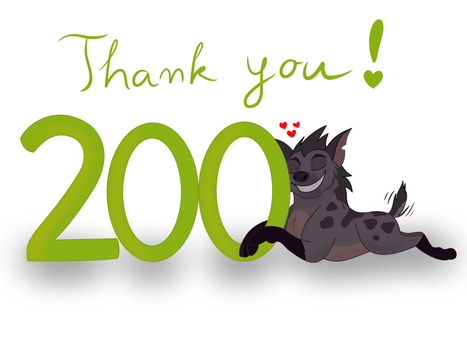 Thank you for 200 watchers by CunningJanja