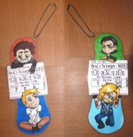 Charm: Avengers Cinemaxx Tickets by Freaky-chan