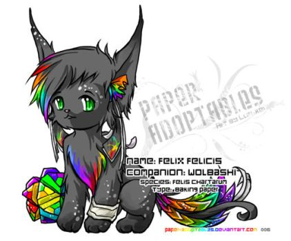 006 Felix Felicis - wolbashi by paper-adoptables