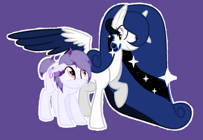 Under Her Wing by DrawingDaize