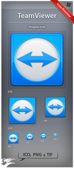 Icon TeamViewer by ncrow