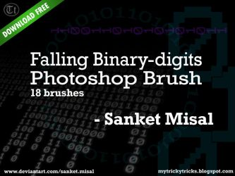 Binary Brushes - Sanket Misal - mytrickytricks.com by sanketmisal