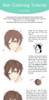 hair coloring tutorial eugh by piyodayo