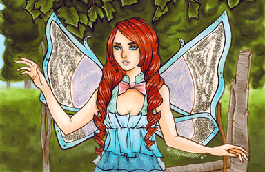 Winx Club - Bloom by GR-the-queen