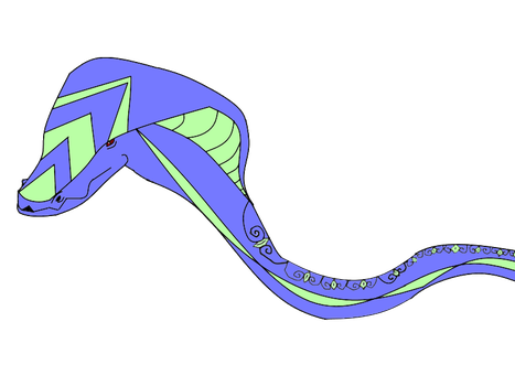 Illusions snake {open} by Amethyst-Wyrm