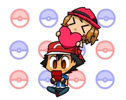 Amourshipping animation by moviemaat