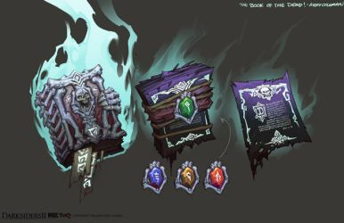 Darksiders II Item Book of the dead by CorruptedDeath