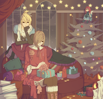 Merry Christmas 2012 by Gasara