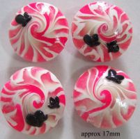 Polymer Clay Beads 15 by snowskin