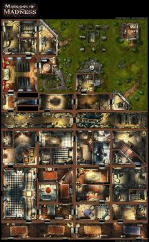 Mansions of Madness, boardgame by henning