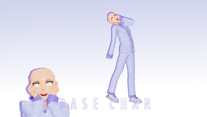 **RE-UPLOADED** (MMD) Aoi Pajama Base **DL** by Animation--Freak