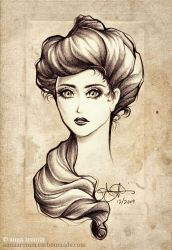 victorian beauty by inktice