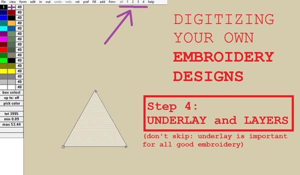 Digitizing your own Embroidery Designs: Step 4! by smashfold