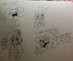 Frisk why? by Channydraws