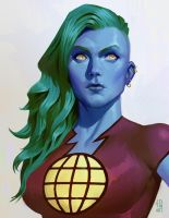Captain Planet by johnnymorrow