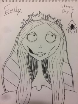 The Corpse Bride by CharlotteLCW