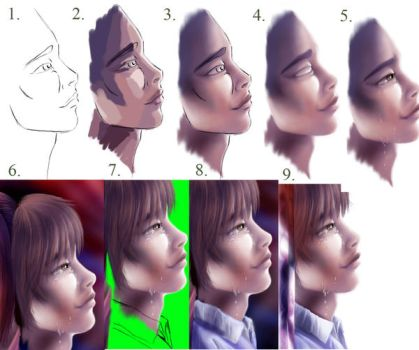 Realistic Art Basic Tutorial by manic-goose